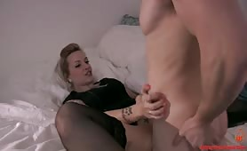 Step Mommy Helps Him Study (Modern Taboo Family)