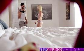 StepSiblingsCaught - Teen Step Sis Wants My Cum Inside Her