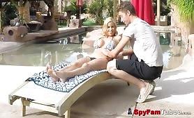 Horny Stepmom Alexis Fawx Impregnated By Stepson