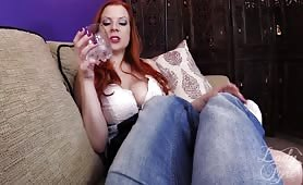 Lady Fyre - Drunk Mother Takes Your Virginity