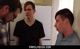 FamilyDick - Handsome Daddy Joins Threesome