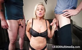 Taboo Confessions - Sharing Family with Friends Scene 1: How Mom Finds a Guilty Son