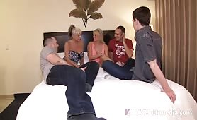 Taboo Confessions - Sharing Family with Friends Scene 2: Mommy Gang Bang
