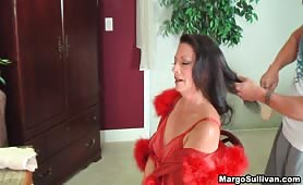 Margo Sullivan - Mom Getting Her Hair Brushed By Son