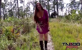 Madisin Lee - Nature Trail With Step Mom