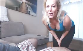 Missbehavin26 - Mom Massages the Tightness Out of Cock