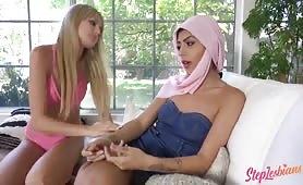 Step lesbians - Forbidden Pleasures With My Muslim Stepsister