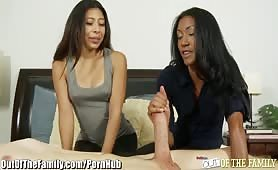 Out Of The Family - Teen Needs Cocksucking Advice from Mom