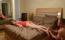 Katie Cummings - I'm soo Drunk, little Brother - Massage my Feet...Please?