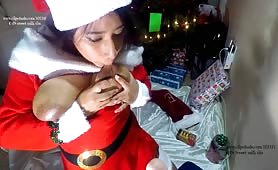 Sweet Milk Tits - All Son Wants For Christmas Is Mrs Claus