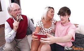 Filthy Family - Family Fucks To Make Him Jealous
