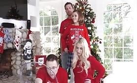 Family Strokes - Heathenous Family Holiday Card