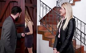 FamiliesTied - Agent India Summer's Ass is Destroyed by Son-In-Law