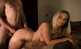 Curious Cristine - Brother watches and jerks to Sister getting fucked