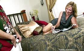 Jodi West - Jodi gives her Step-son boner pills