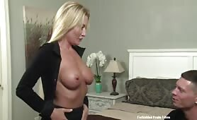 Forbidden Fruit Films - Do you think my boobs are too small?