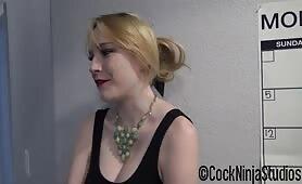 Cock Ninja Studios - Horny Ugly Bitch Step Sister Can't Say No