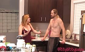 Cock Ninja Studios - Chubby Big Natural ASS Step Daughter Impregnated By StepFather