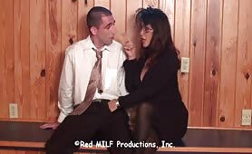 Rachel Steele - Witchy MILF gets Horny at the Funeral House