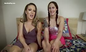 Carmen Valentina - Mom And Sister Teach You About Porn
