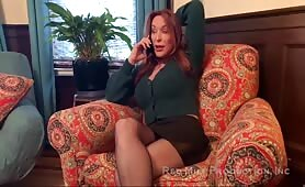 Rachel Steele - Cheating Mommy Bargained With Son