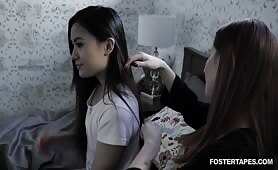 FosterTapes - Foster Daughter Caught Stealing And Punished