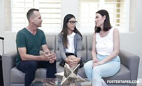 FosterTapes - Foster Daughter Intimacy Keeps Family Together