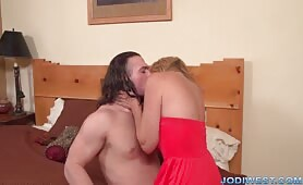 Jodi West - Happy Mother's Day Creampie from Son