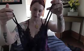 Bettie Bondage - Mom Wears Your Girlfriend's Lingerie
