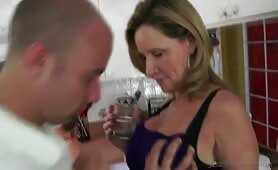 Jodi West - Hot MILF Takes Son to Bed HD