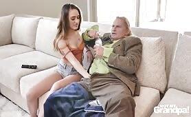 Sera Ryder & Alona Bloom – Grandpa's Huge Problem