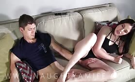 Amiee Cambridge - Naughty and Horny Siblings Compilation