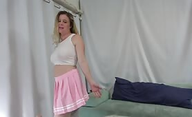 Erin Electra - She Seduces her Dad while Mom is out of the House